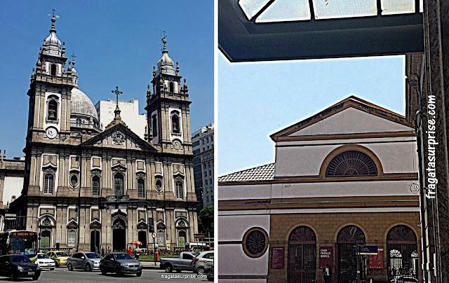 Igreja da Candelária e Casa França-Brasil - Rio de Janeiro