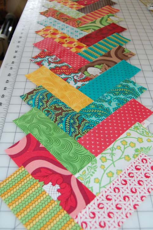 Sultry Jelly Roll Quilt - Free Pattern