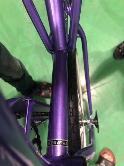 Xe đạp Trung Quốc gắn mác 'Made in Vietnam'