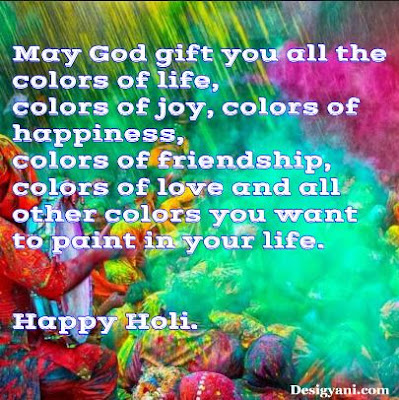 May god gift you all the colors