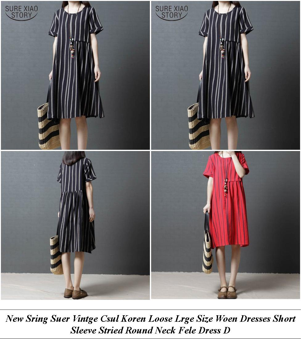 Holiday Each Dresses Uk - Sale Cheap Ricks - Dresses With Sleeves And Midi Length
