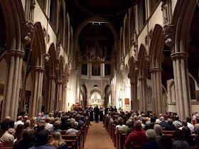 Sonoro & Neil Ferris at Sacred Heart Church, Wimbledon
