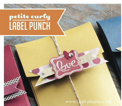 Petite Curly Label Punch, Stampin' Up!