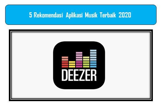 Rekomendasi Aplikasi Musik Terbaik 2020
