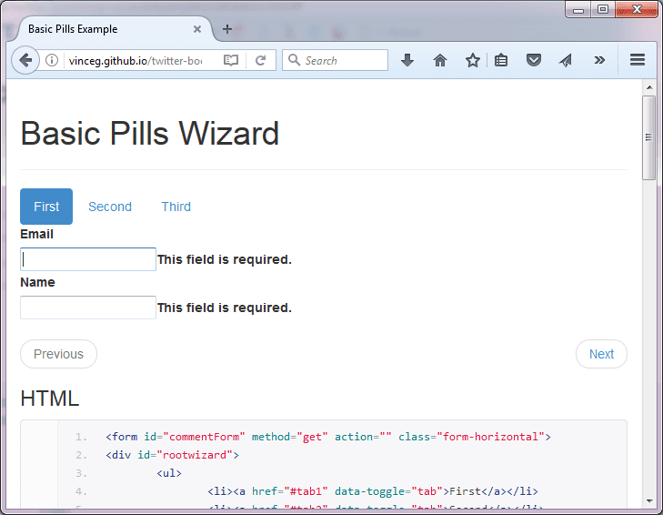 8 Awesome jQuery Wizard Plugins | jQuery By Example