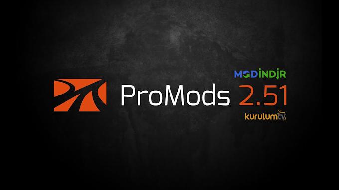 ETS 2 - Promods v2.51 Harita Modu (1.39)