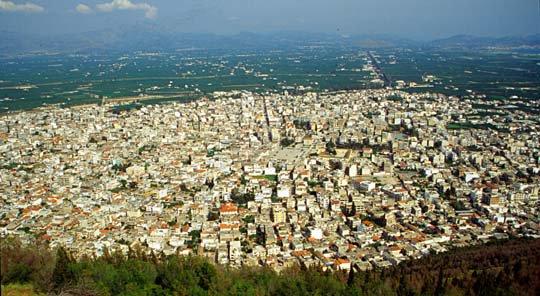 Άργος: Ρεκόρ θερμοκρασίας για την εποχή