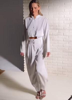 Francesca Fialdini abbigliamento maschile pantaloni