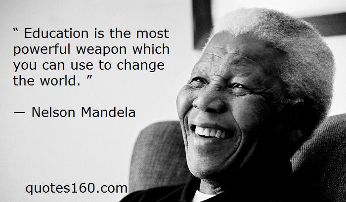 education quotes nelson mandela - photo #28