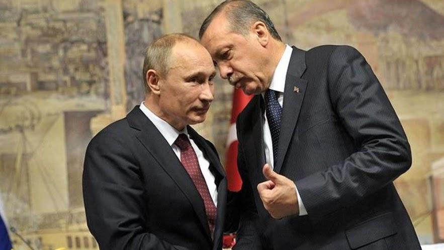"""Πούτιν και Ερντογάν: Μια παράξενη """"αδελφική"""" σχέση σκληρής ισχύος"""