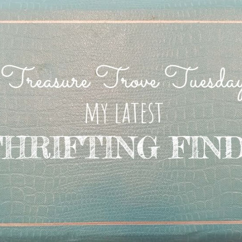 Treasure Trove Tuesday - My Latest Thrifting Finds