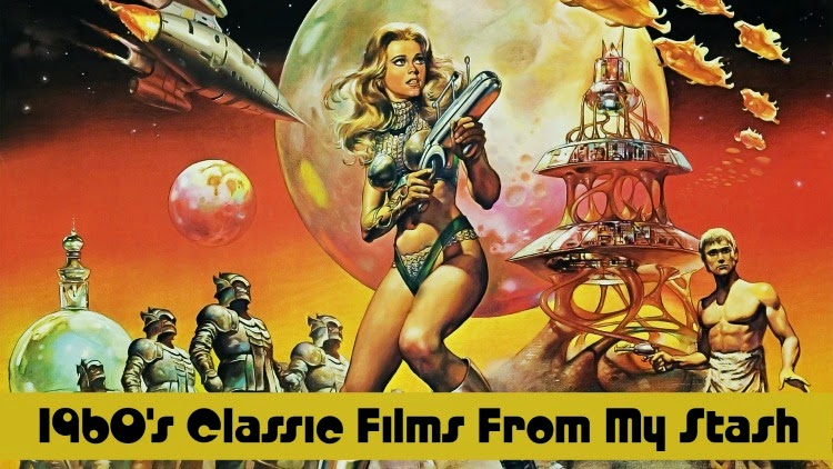 A Vintage Nerd, Vintage Blog, Barbarella, Old Hollywood Blog, Classic Film Blog, Classic Film Recommendations