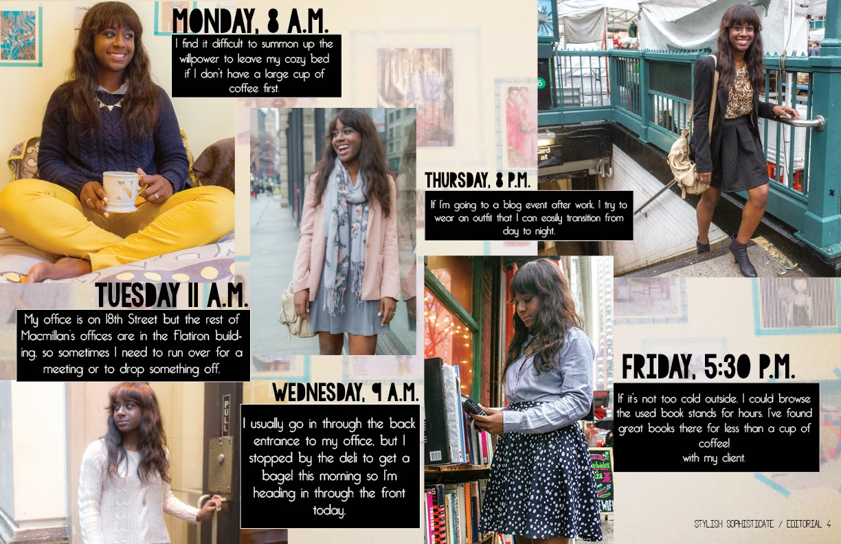 nnenna odeluga, professional style, publishing workweek chic,  9 to 5, career, work, outfit