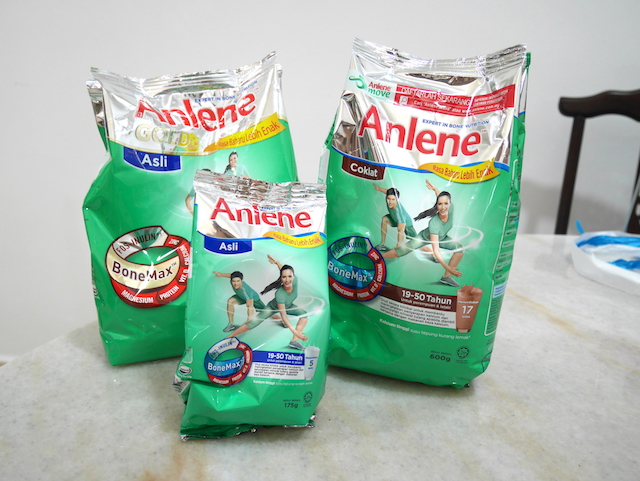 A couple of Anlene products in my home at the moment