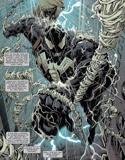 Con Eddie Brock, el simbionte Venom es más poderoso