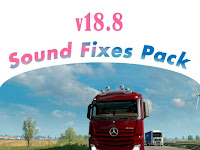 Sound Fixes Pack v 18.8 - ETS2 1.30