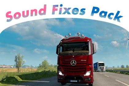 Sound Fixes Pack v 18.8 - ETS2 1.30