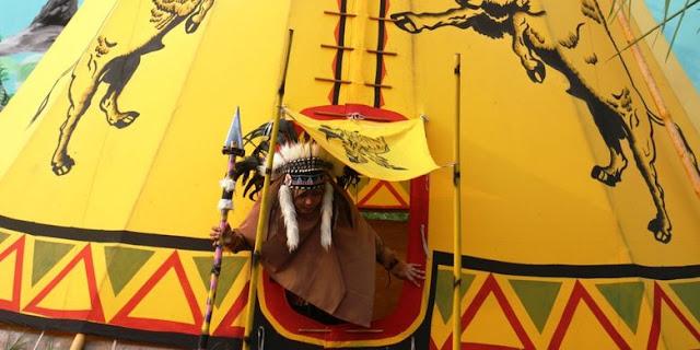 Indian Camp Penambangan, serasa di Amerika
