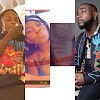 "Nairamarley At 33: Davido Screamed ""Jesus"" After A Lady Tattooed Naira Marley Head On Her Yansh. VIDEO"
