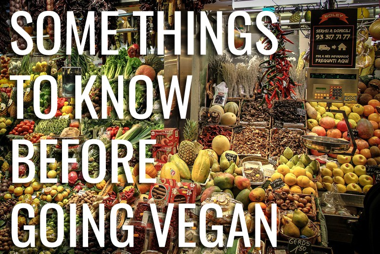 what to know before going vegan