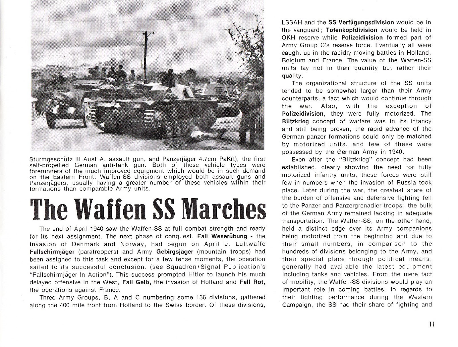 Waffen Ss Libro Weapons Nº 3 Waffen Ss In Action Squadron Signal