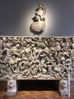 palacio altemps roma guia de turismo sarcofago Ludovisi - Palácio Altemps, Museu de Roma