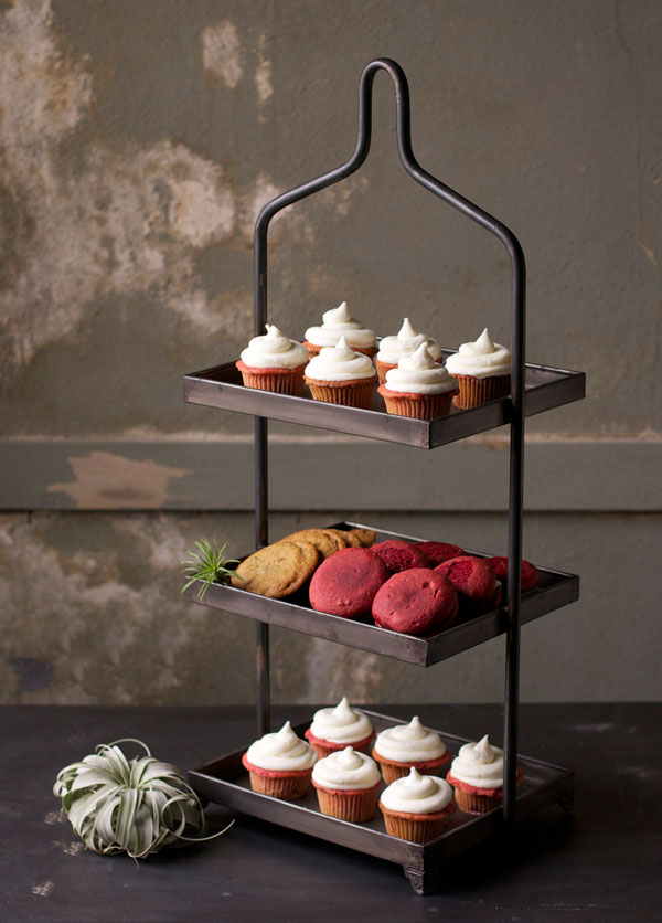 Farmhouse Musings New Hadley Three Tiered Stand