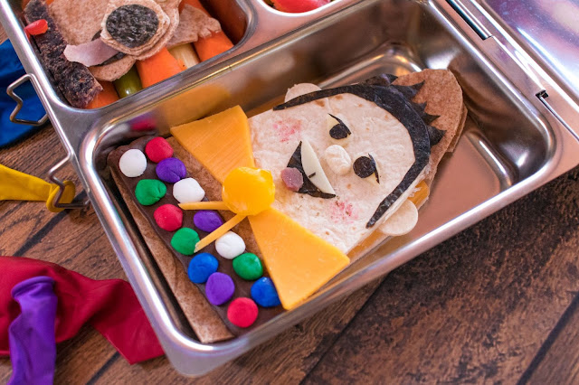 How to Make a Disney Pixar UP School Lunch!