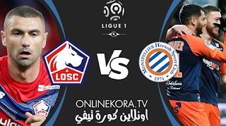 مشاهدة مباراة ليل ومونبلييه بث مباشر اليوم 16-04-2021 في الدوري الفرنسي