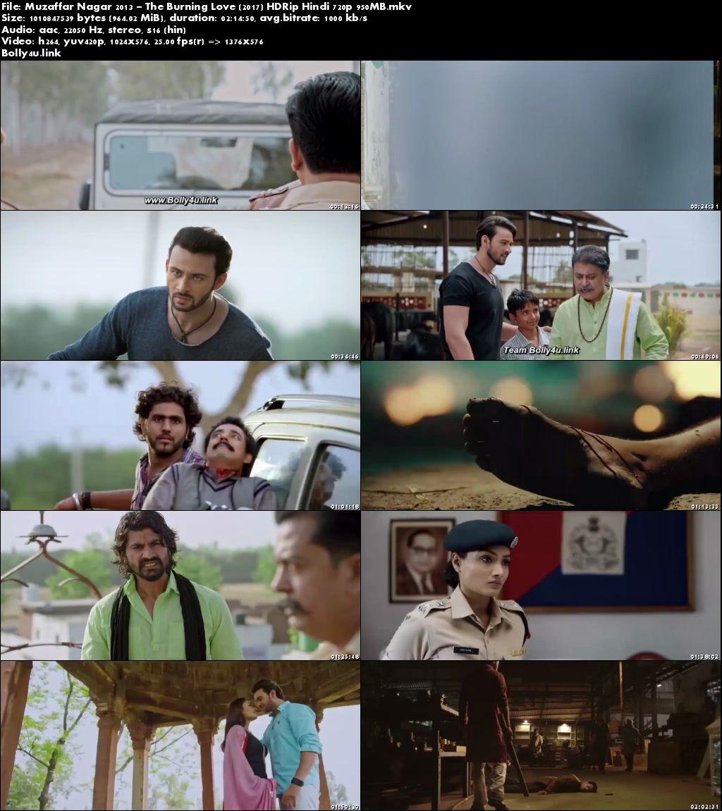 Muzaffar Nagar 2013 The Burning Love 2017 HDRip 400MB Hindi 480p Download