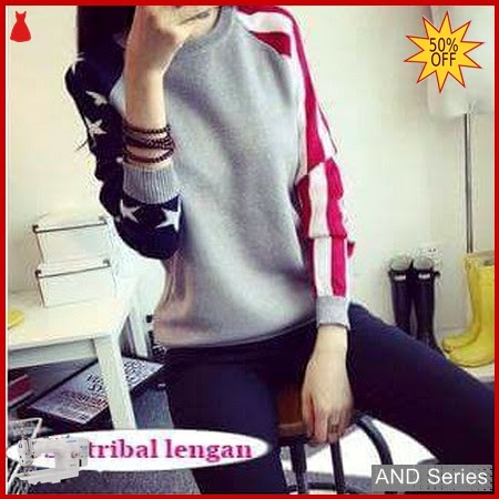 AND261 Sweater Wanita Usa Tribal Murah BMGShop