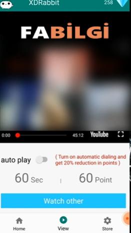 Youtube XDRabbit Uygulaması 4.000 Saat İzlenme Hilesi 2021