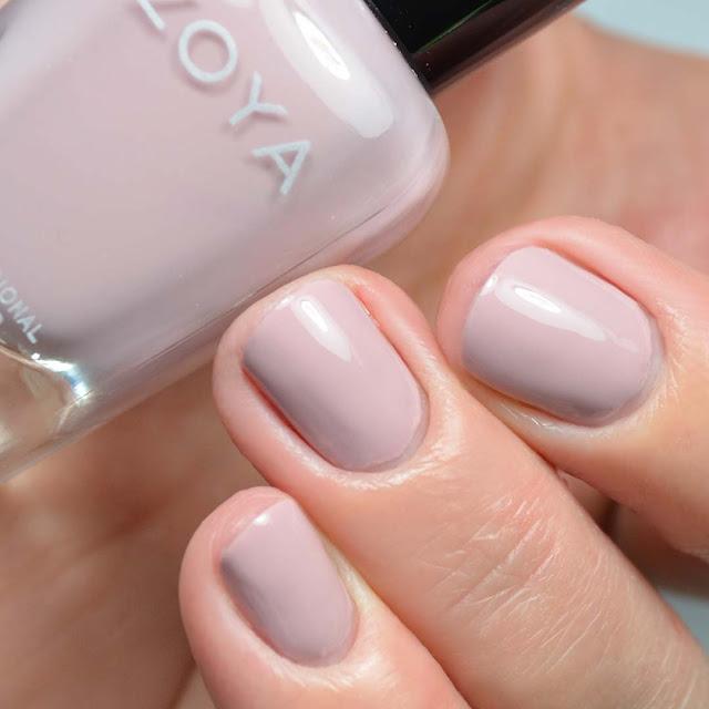 taupe mauve nail polish swatch