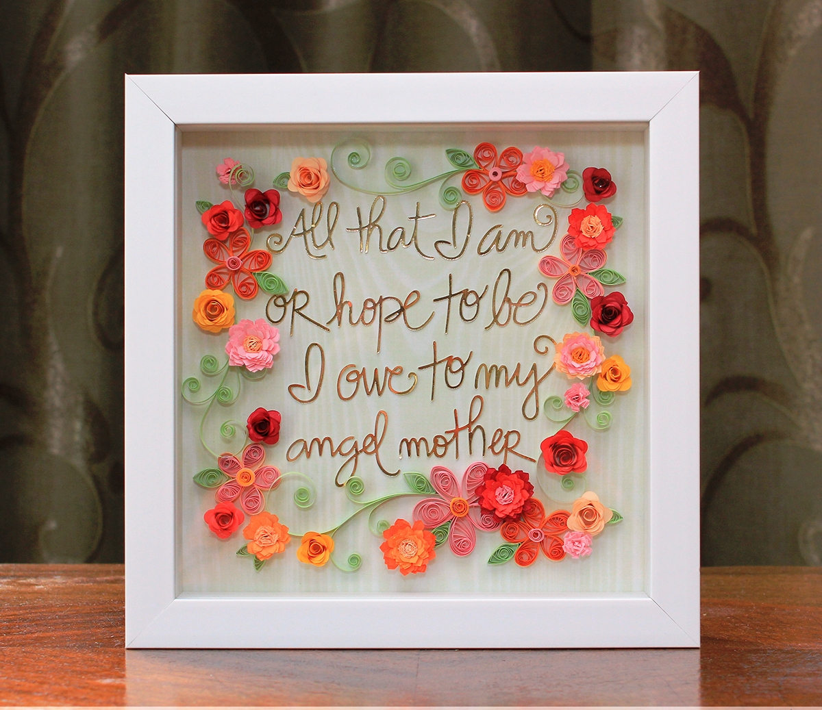 Quilled Picture Frame Ideas Easy Arts And Crafts Ideas