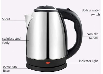 MELVIS Electric Kettle for Tea Coffee Making