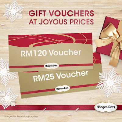 Häagen-Dazs Gift Vouchers Discount Offer Promo