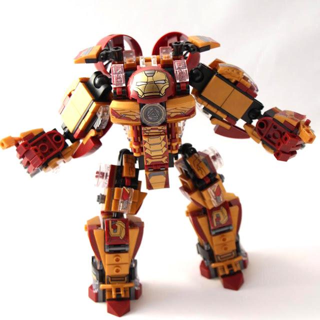 Lego Xếp Hình Siêu Anh Hùng Người Sắt Gồm 339 Chi Tiết_4