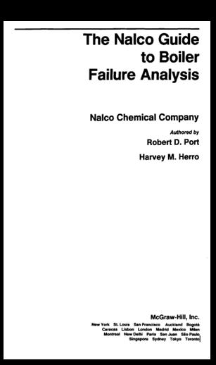 the nalco guide to boiler failure analysis rh mechasource blogspot com nalco guide to boiler failure analysis 2nd edition pdf nalco guide to boiler failure analysis pdf