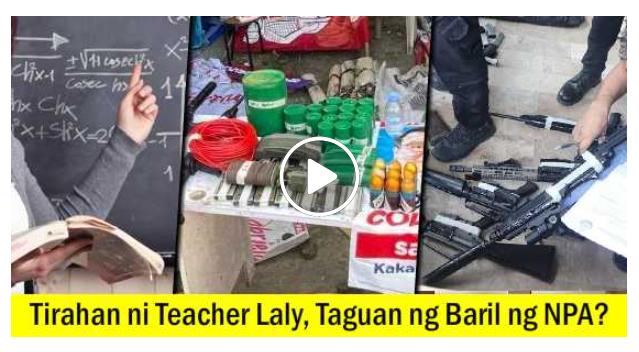 Look! Bahay ni Teacher Laly, Nakitaan ng Matataas na Armas at Pampasabog!