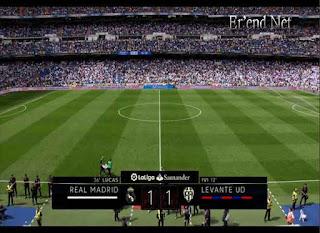Madrid vs Levante Paruh Waktu 1-1 La Liga 2017