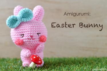 Free Amigurumi Easter bunny crochet pattern