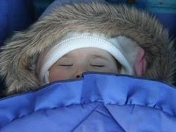 Để trẻ luôn ấm trong đêm đông