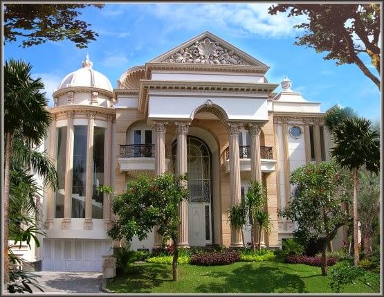 Gambar Rumah Eropa Klasik Modern Gaya Desain Terbaru
