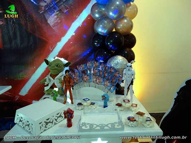 Decoração tema Star Wars - Festa de aniversário infantil