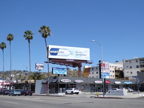 Smartwater Purity perfected billboard
