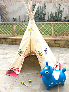 wigwam from Big Game Hunters and inflatable Rody