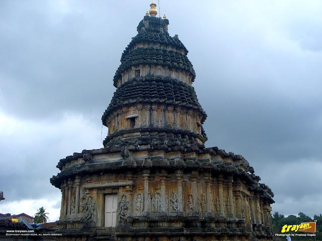 Vidyashankara Temple in Sringeri, Chikkamagalur district, Karnataka, India