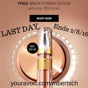 Free Avon Anew Power Serum