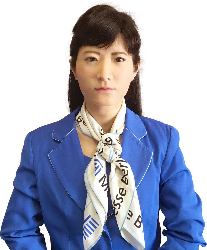 Chihira Kanae Toshiba humanoid robot