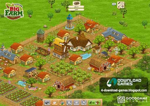 لعبة المزرعة الكبيرة Big Farm للكمبيوتر
